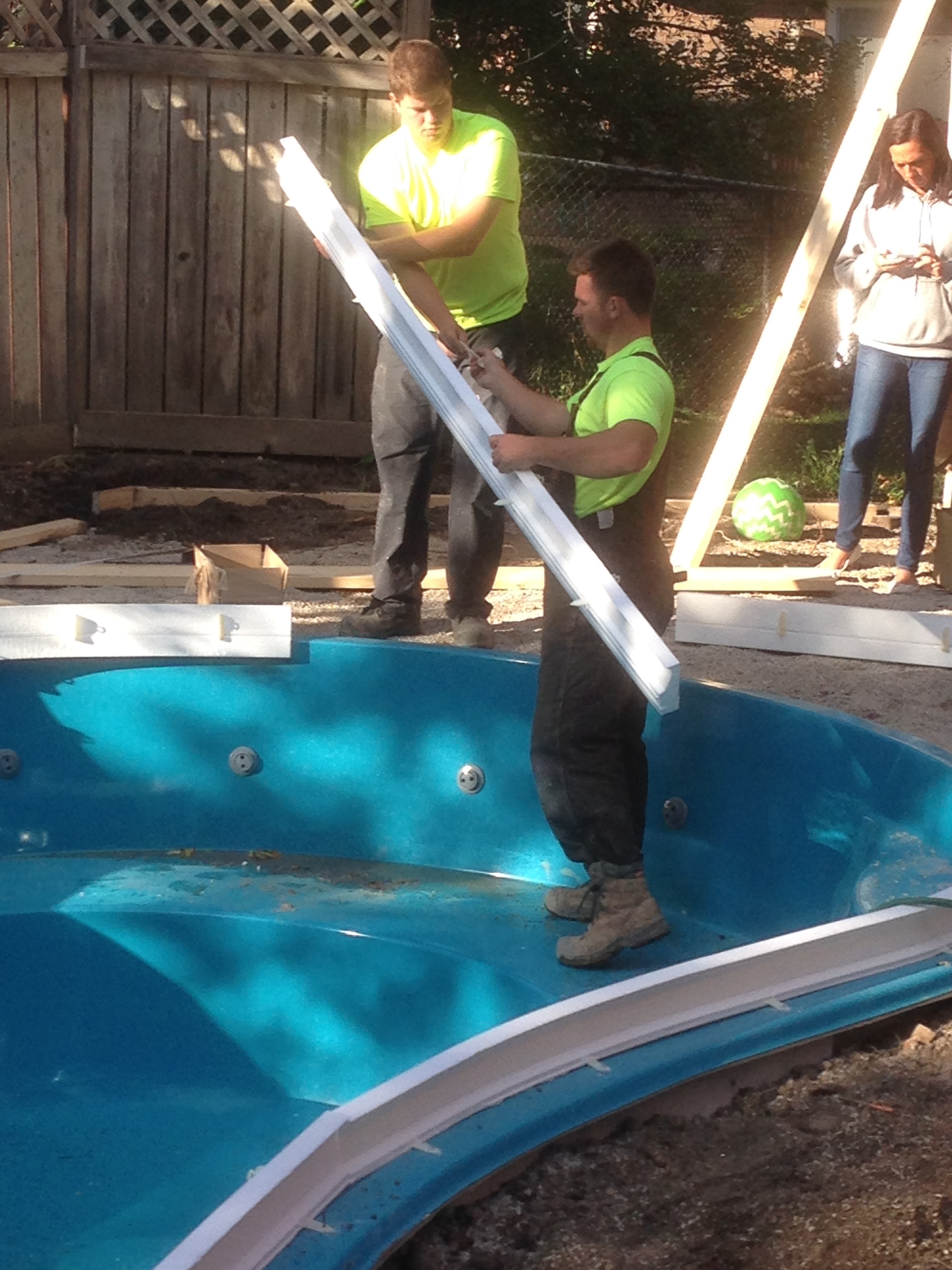 Jac For Fibreglass And Gunite Concrete Pools With Tile